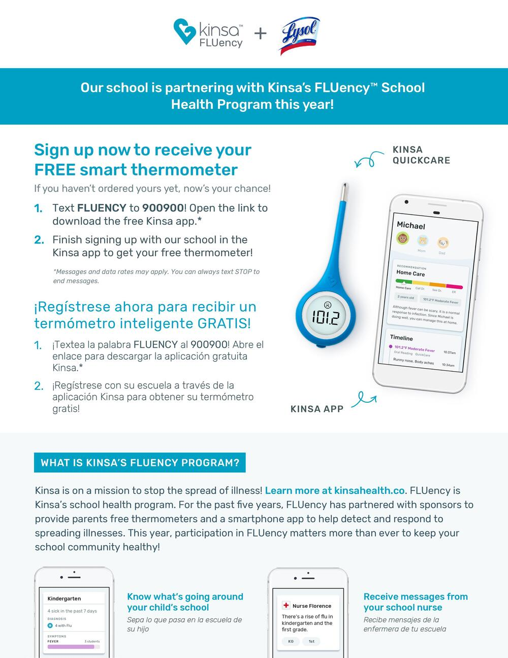 Sign up for a free thermometer